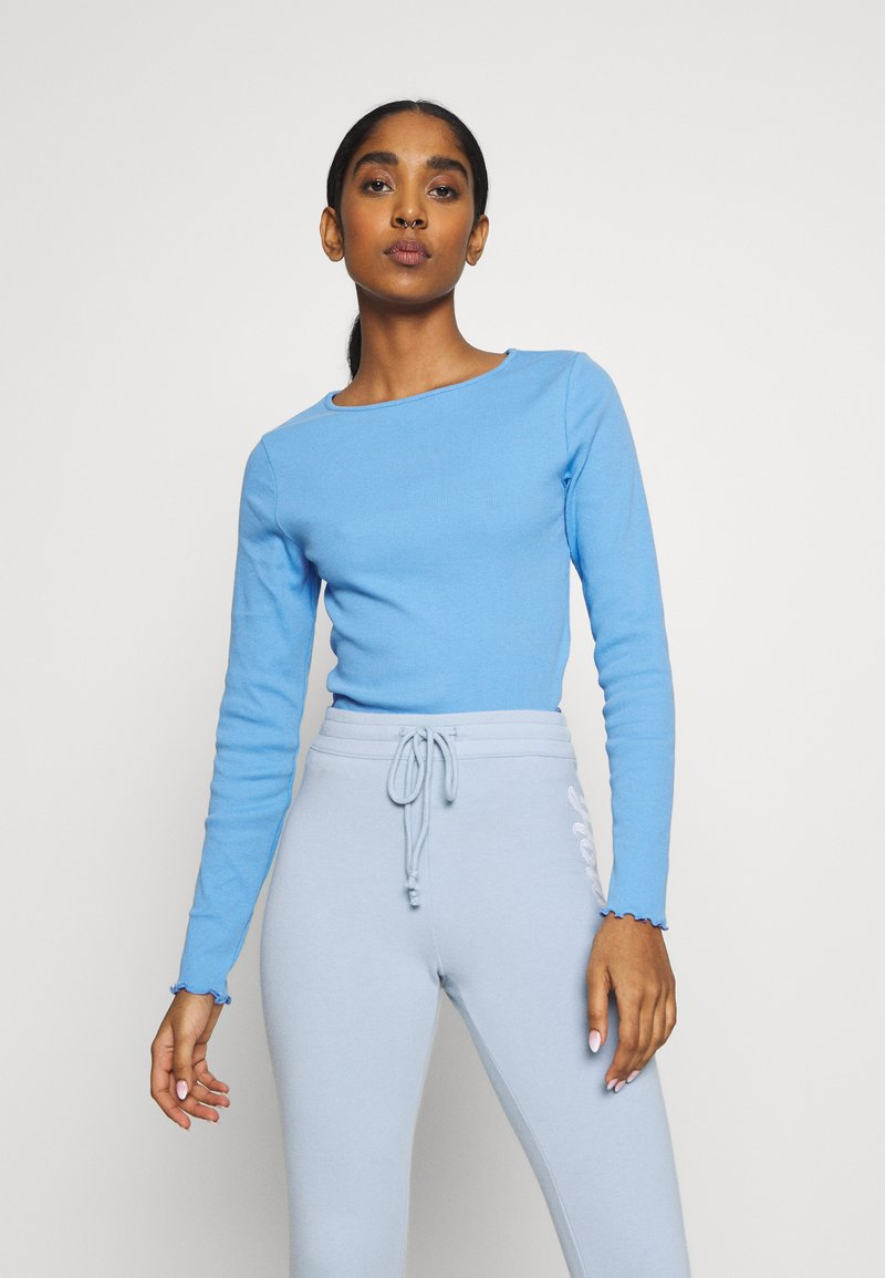 New Look - BABYLOCK - Long sleeved top - mid blue