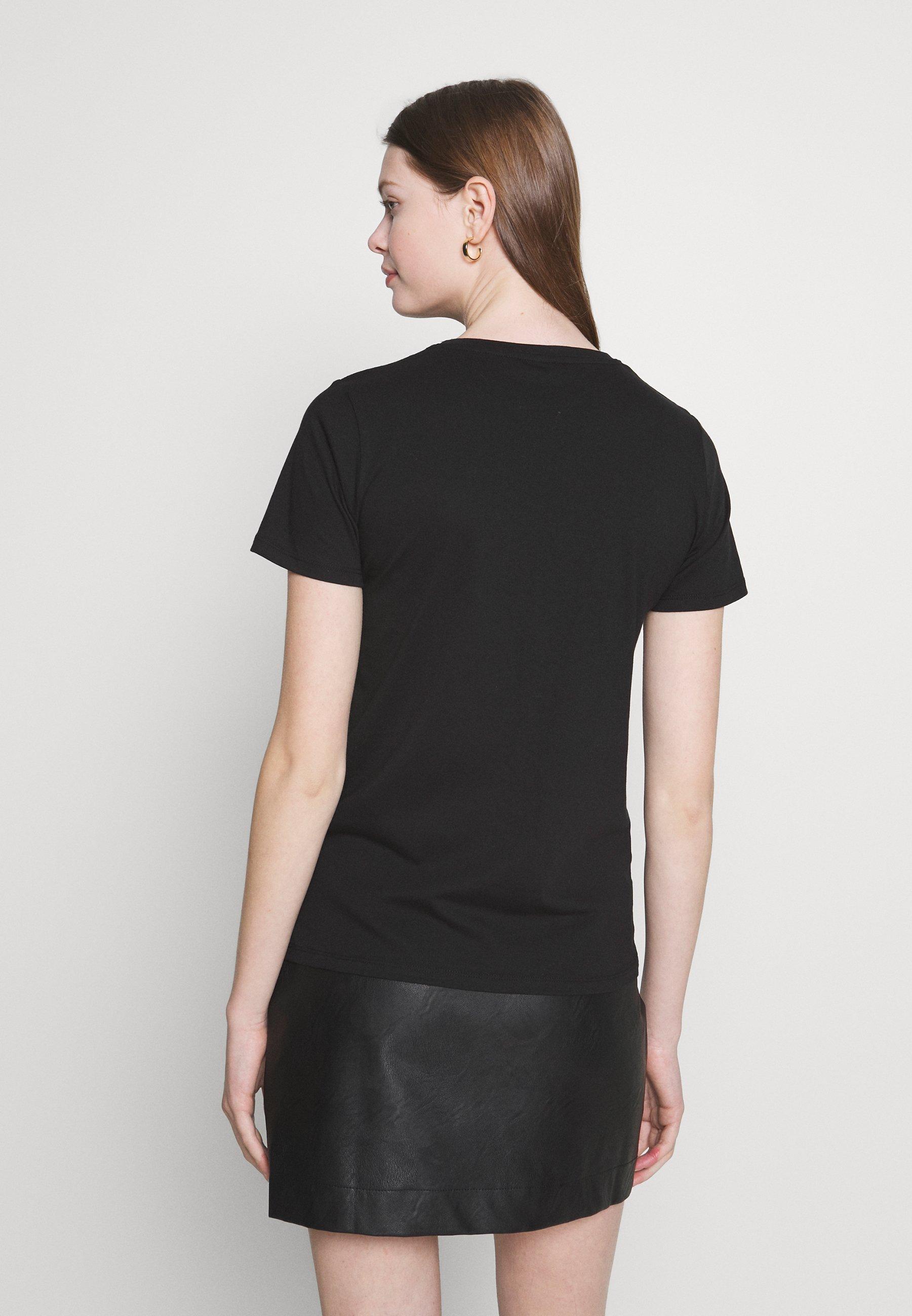 New Look BLOOM TEE - T-shirts med print - black