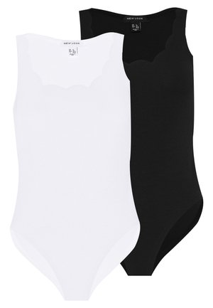 SCALLOP BODY 2 PACK - Top - black