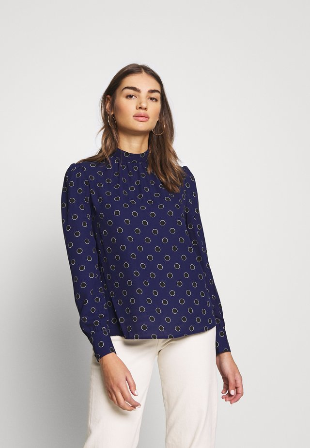 SAMMIE SPOT  - Bluzka - blue pattern