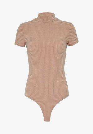 TURTLE BODY - Camiseta básica - camel