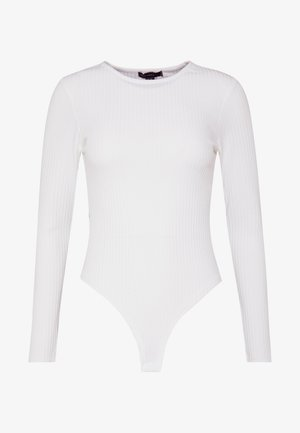 CREW NECK BODY - Long sleeved top - off white
