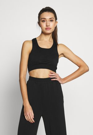TEXTURED SEAM FREE - Top - black