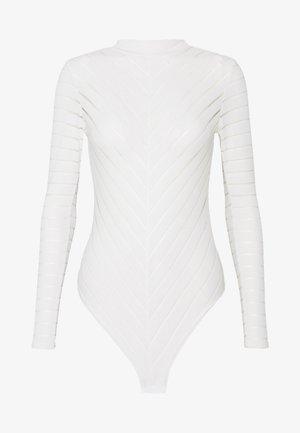 STRIPE - Longsleeve - off white