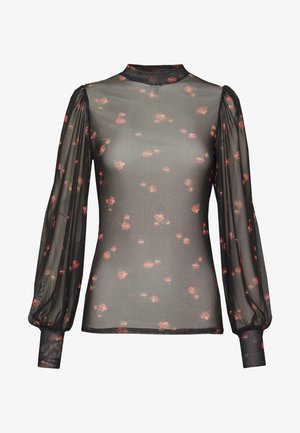 NINA ROSE - T-shirt à manches longues - black
