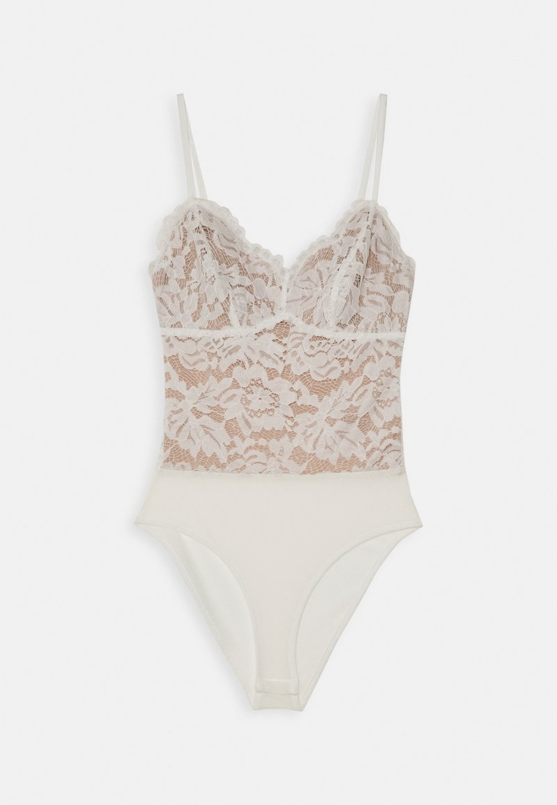 New Look - GO CONTRAST BODY - Top - white