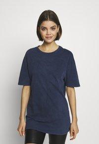 New Look - TEE - Basic T-shirt - mid blue - 0