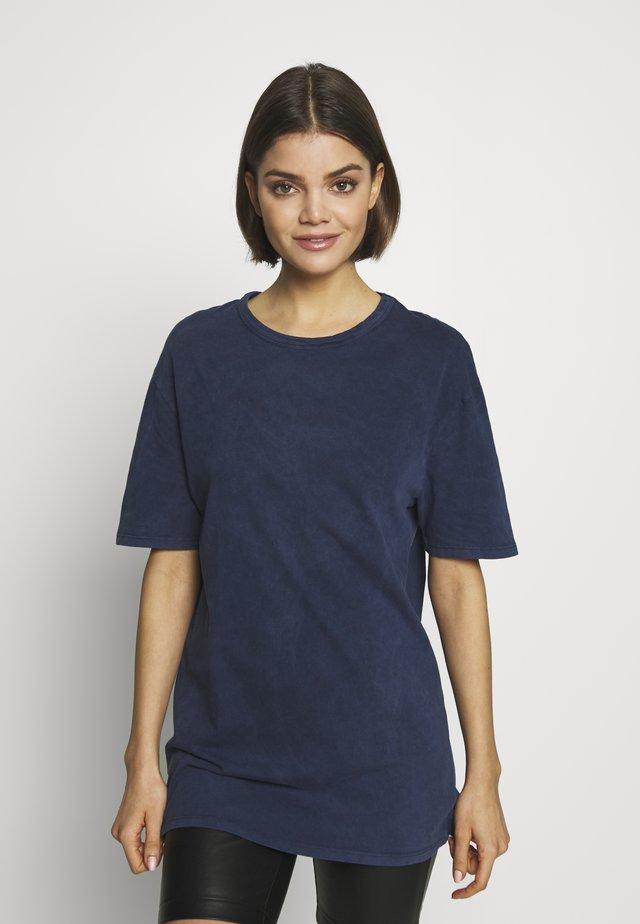 TEE - T-shirt basic - mid blue