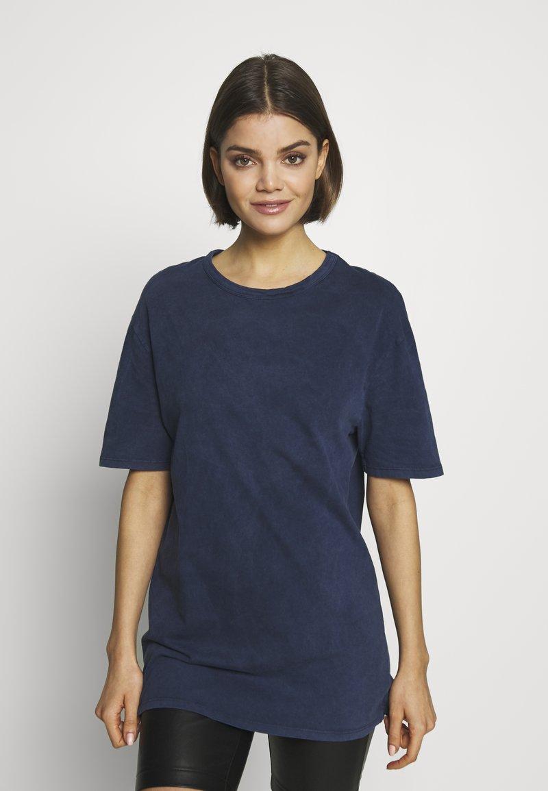New Look - TEE - Basic T-shirt - mid blue
