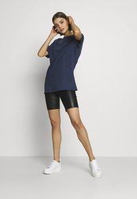 New Look - TEE - Basic T-shirt - mid blue - 1