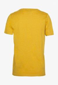 New Look - GIRLFRIEND TEE 2 PACK - T-shirt basic - black/yellow - 2