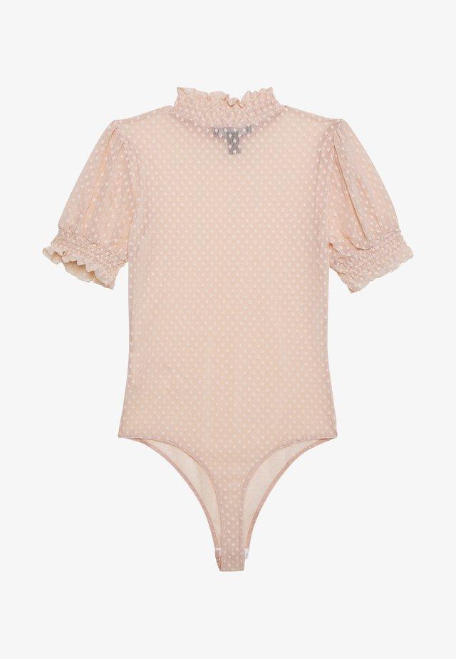 SPOT BODY - T-shirt print - pale pink