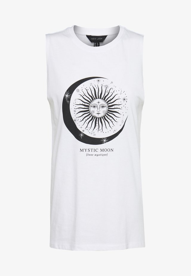 MSYTIC TANK - Top - white