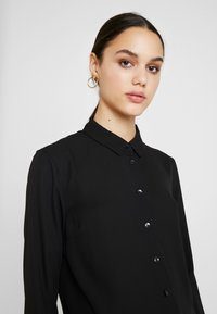 New Look - PLAIN LEAD - Button-down blouse - black - 4