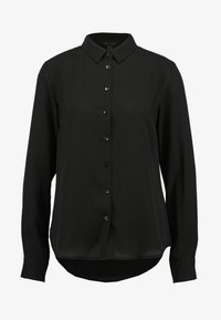 New Look - PLAIN LEAD - Button-down blouse - black - 3