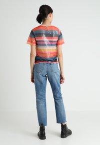New Look - GO RAINBOW STRIPE SEQUIN TEE - Bluzka - multi-coloured - 2