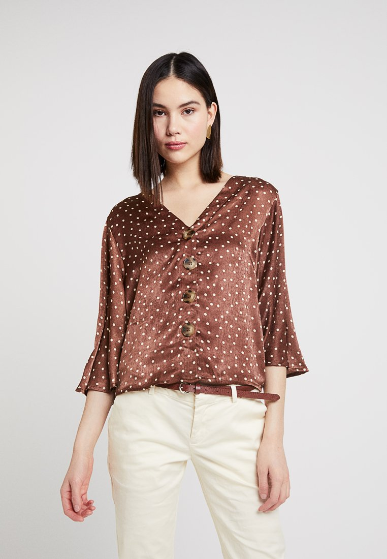 New Look - SPOT - Blouse - brown
