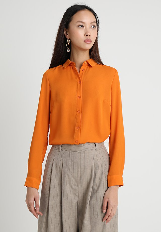 PLAIN SHIRT - Overhemdblouse - bright orange