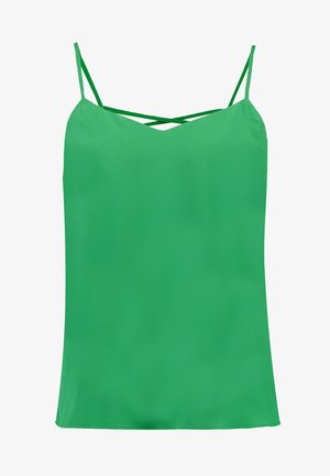 CROSS BACK CAMI - Linne - mid green