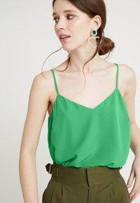 New Look - CROSS BACK CAMI - Top - mid green - 3