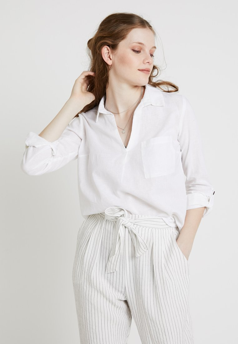 New Look - LUCY POCKET - Blouse - white