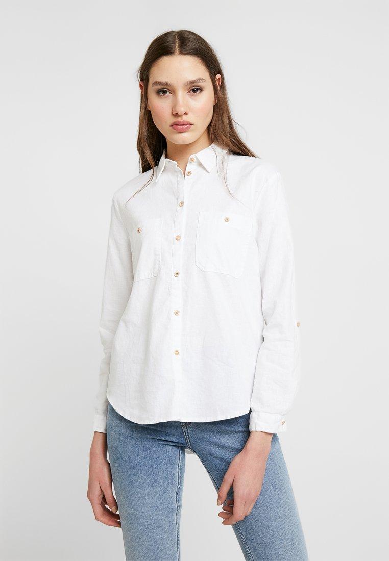 New Look - LUCY POCKET - Hemdbluse - white