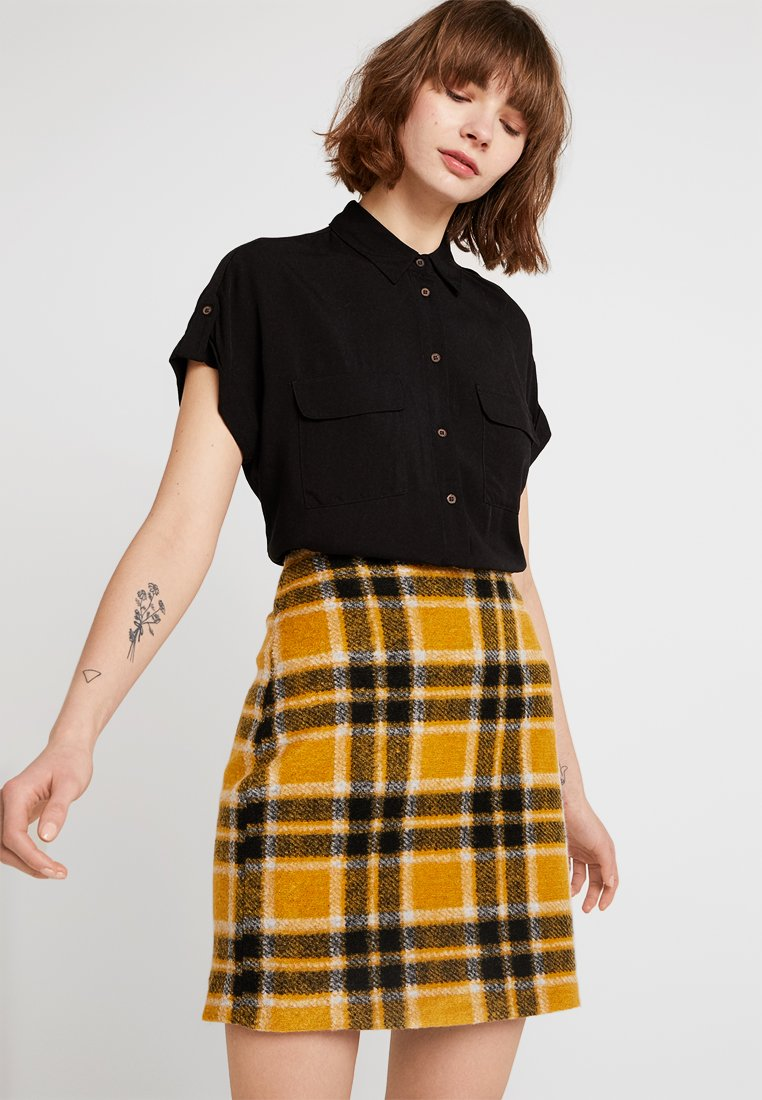New Look - JEFF PATCH POCKET - Camicia - black