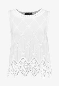 New Look - LEXIE LATTICE SHELL - Blus - white - 3