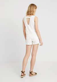 New Look - LEXIE LATTICE SHELL - Blus - white - 2