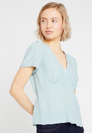 PLAIN PENELOPE TEA BLOUSE - Blusa - mint green