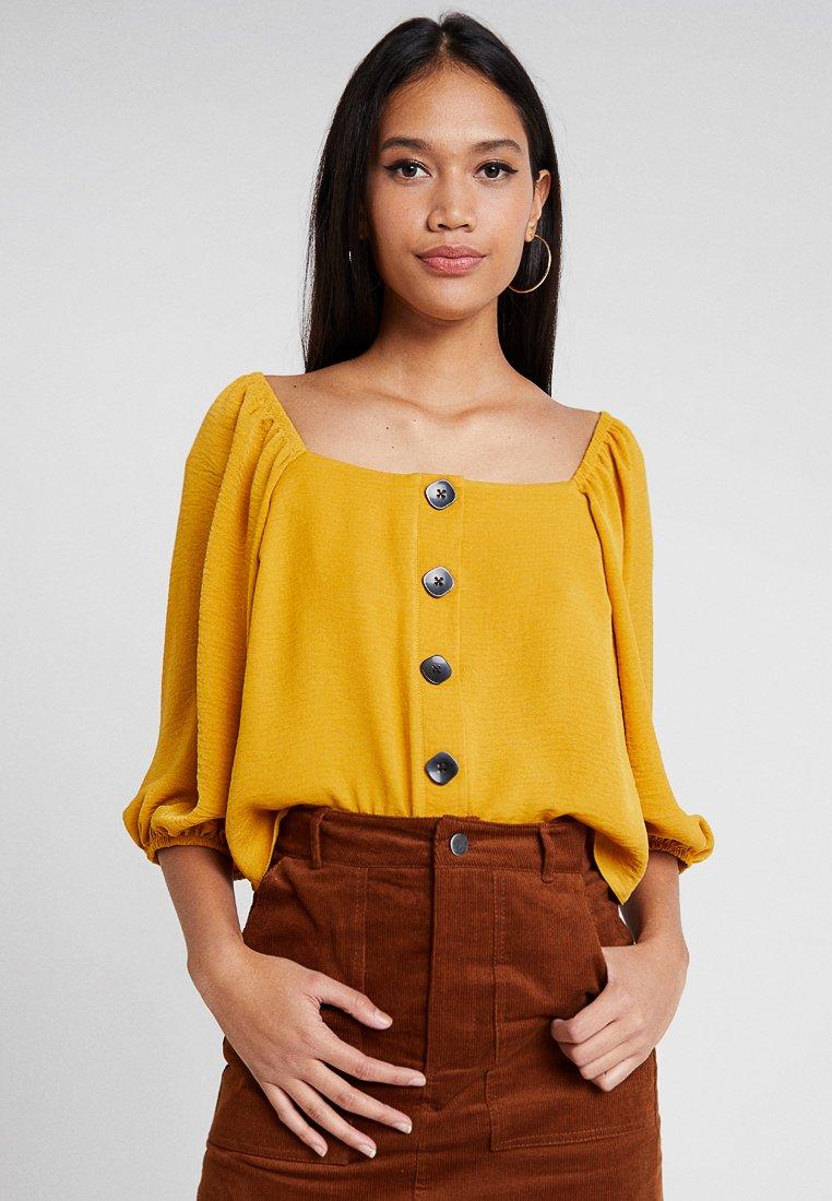 New Look - SASHA THRU - Blouse - mustard