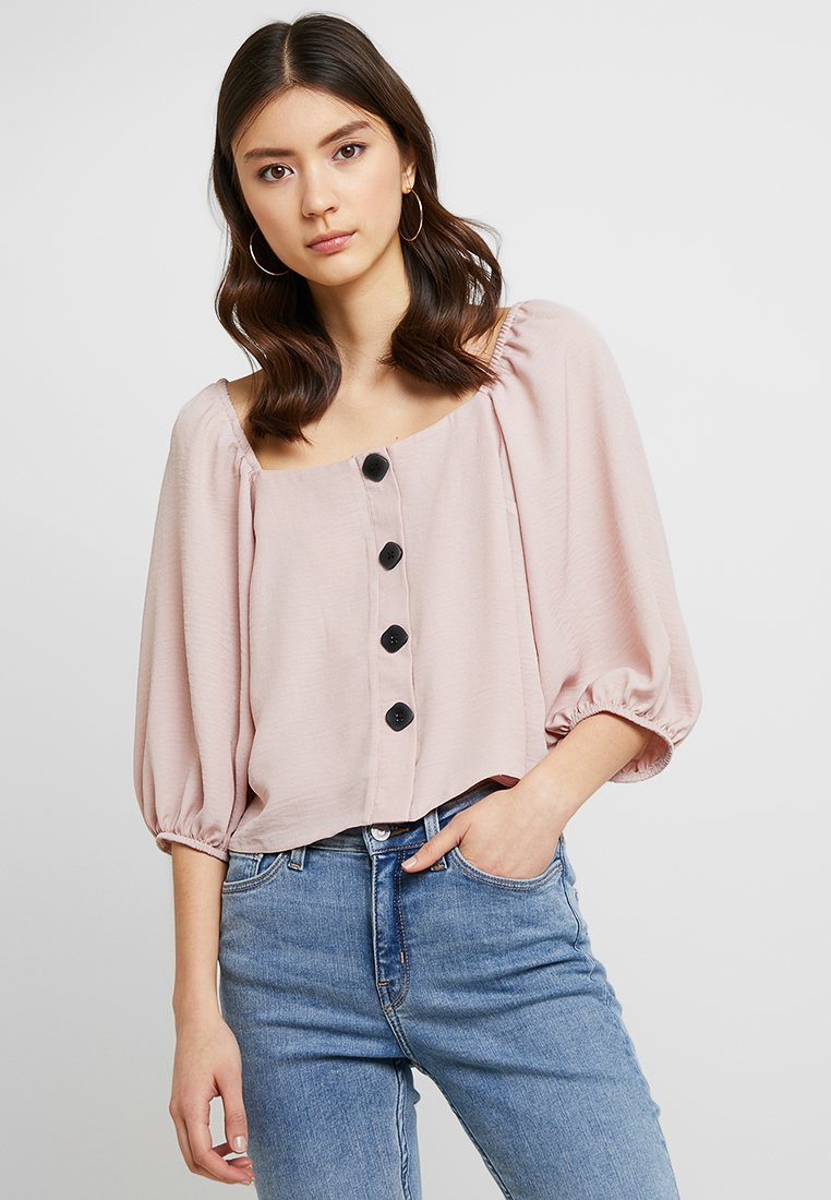 New Look - SASHA THRU - Bluse - pink