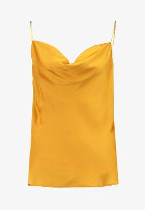 JODIE WRAP CAMI - Top - mustard