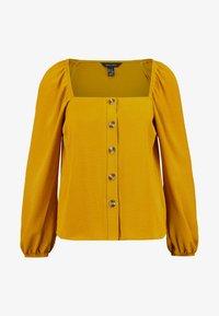 New Look - FRILL - Pusero - mustard - 4