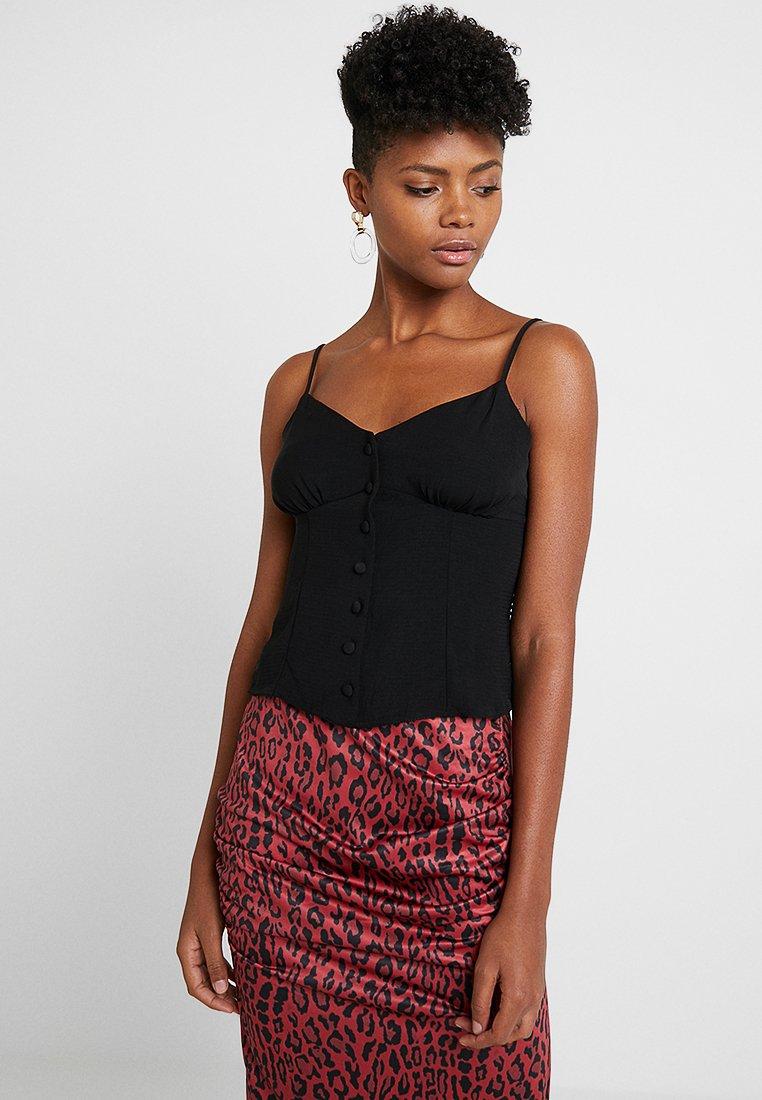 New Look - MARIA CAMI - Top - black