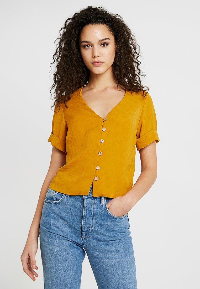 New Look - PENNY THRU - Blouse - dark yellow