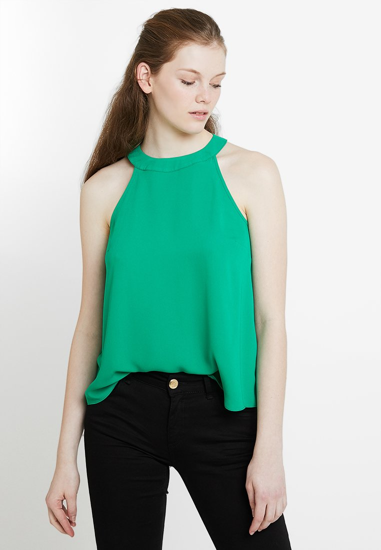 Look New RACHEL green HALTERBlouse bright DHE29WIY