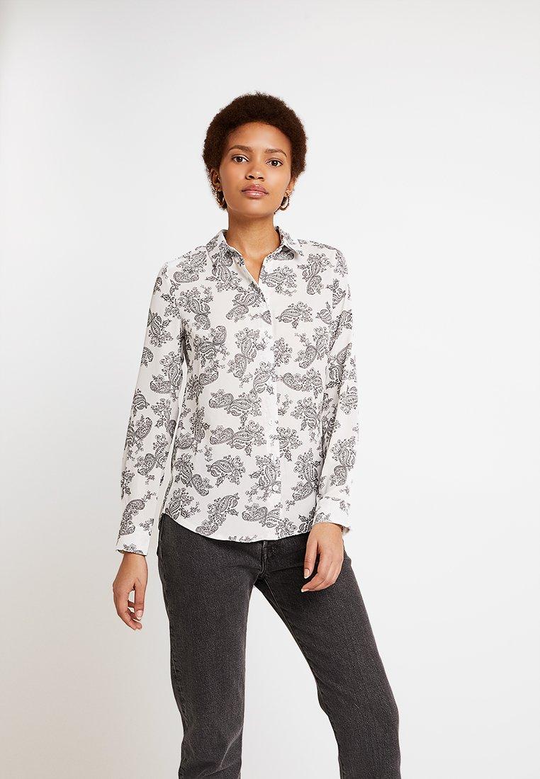 New Look - PAULA PAISLEY - Bluse - white pattern