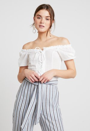 LARA BOUSE - Blouse - off-white