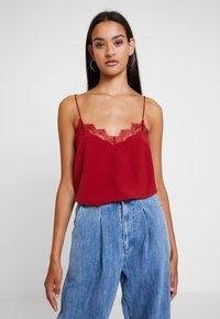 New Look - CAMI - Blouse - burgundy - 0