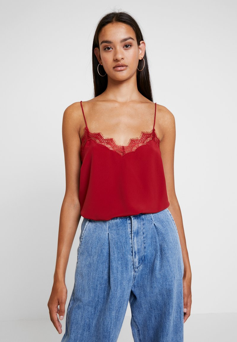 New Look - CAMI - Blouse - burgundy