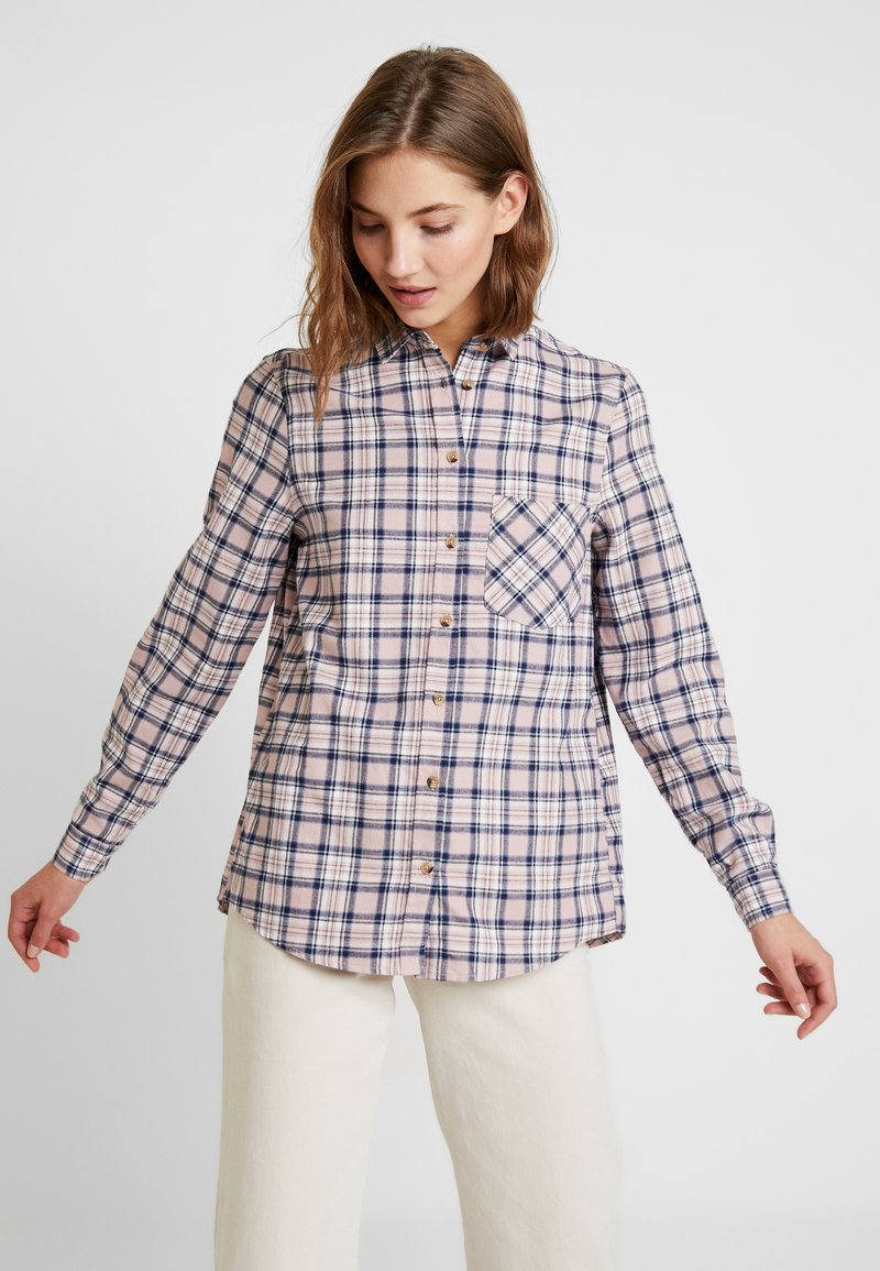 New Look - PAMMY CHECK - Blouse - pink