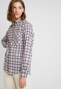 New Look - PAMMY CHECK - Blouse - pink - 3