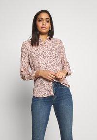 New Look - STEPHANIE SPOT - Skjorte - pink - 0