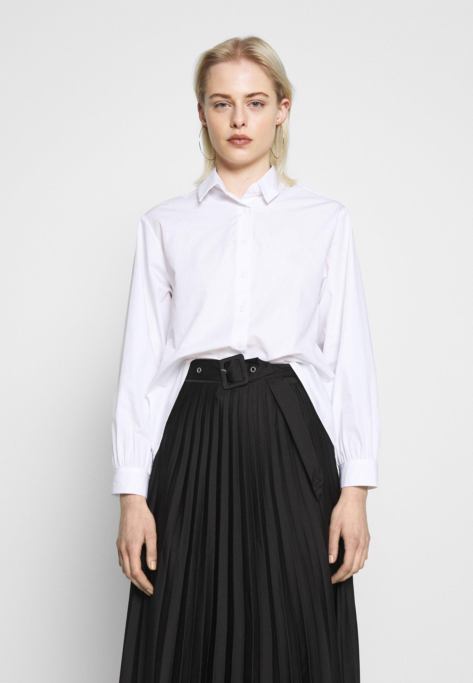 New Look CROP SHIRT - Skjorte - white