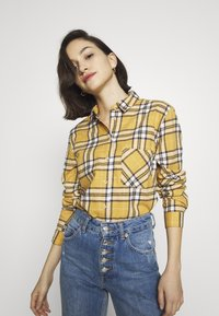 New Look - STANLEY MUSTARD CHECK - Blouse - yellow - 3