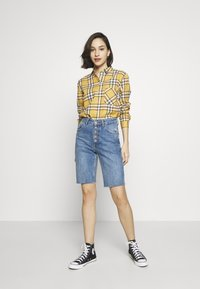 New Look - STANLEY MUSTARD CHECK - Blouse - yellow - 1