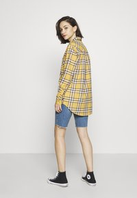 New Look - STANLEY MUSTARD CHECK - Blouse - yellow - 2