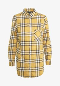 New Look - STANLEY MUSTARD CHECK - Blouse - yellow - 4