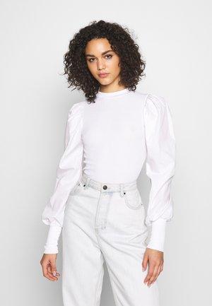 POPLIN - Bluser - white